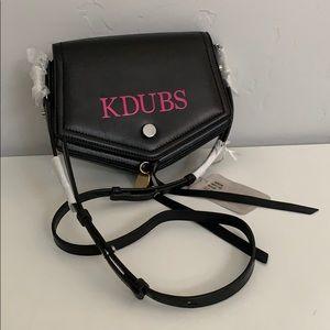 """Auth Jimmy Choo Arrow Bag with """"KDUBS"""""""